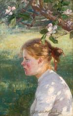 Elin Danielson-Gambogi: Omenapuun alla / Under äppelträdet