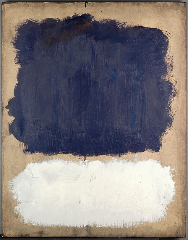 Mark Rothko: Grey, White, Purple