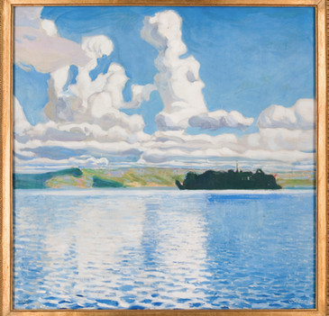 Akseli Gallen-Kallela: Pilvitornit / Moln / Clouds