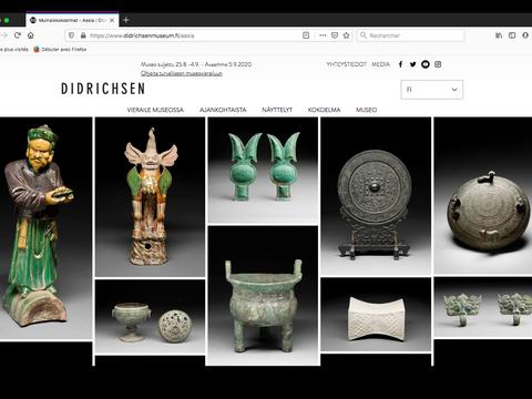 Page des oeuvres: Cultures asiatiques