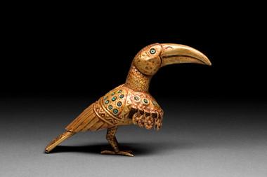 Kultalintu (Tukaani) / Guldfågel (Tucan) / Golden bird (Tucan)