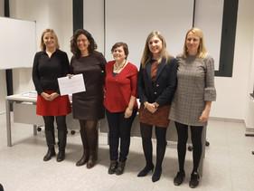 Entrega de premios de la 3era edición Premio Mónica García-Renedo