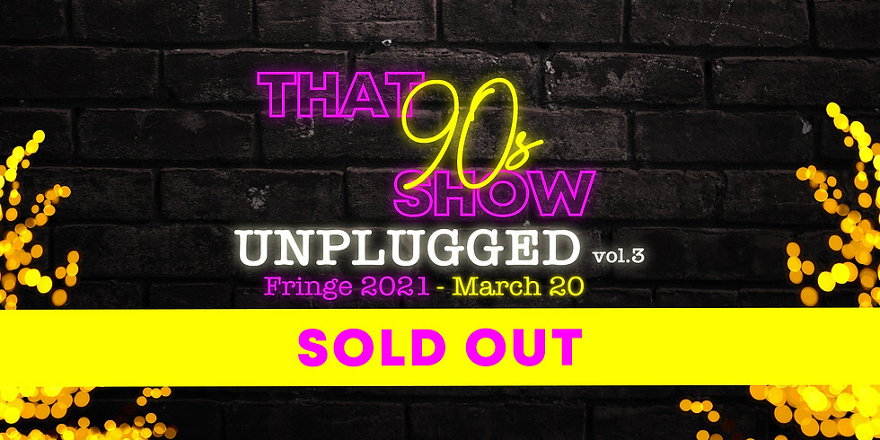 SOLD OUT Unplugged Vol. 3