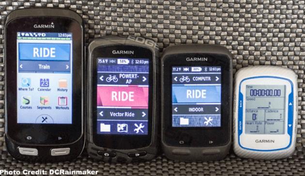 Cycling Computer Data Fields