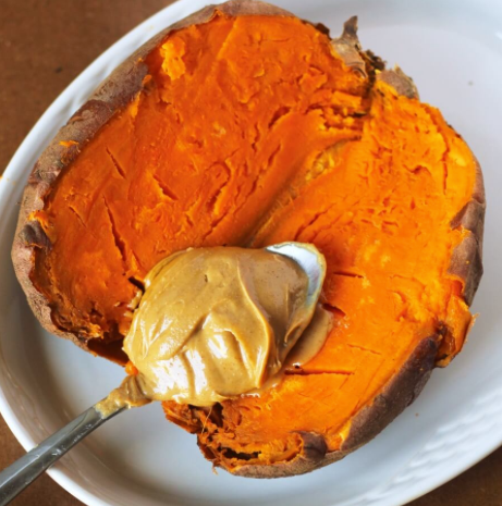 Sweet Potato and Peanut Butter? YES