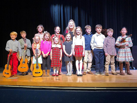 CMA students from Brookstone School perform their Spring Recital