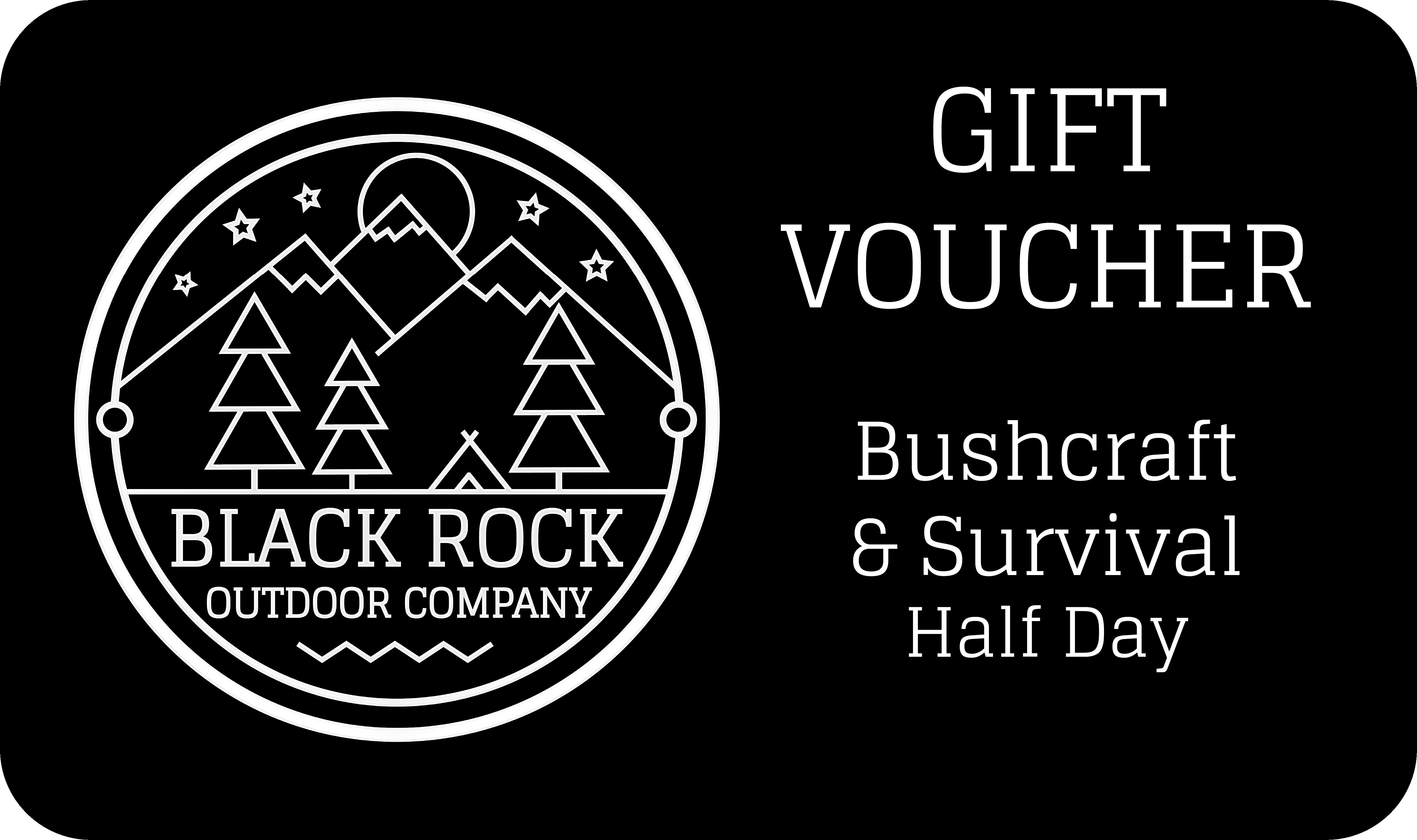 Gift Voucher-Bushcraft HalfDay