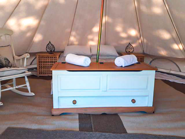 bell tent bed
