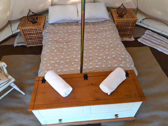 bell tent bed 2