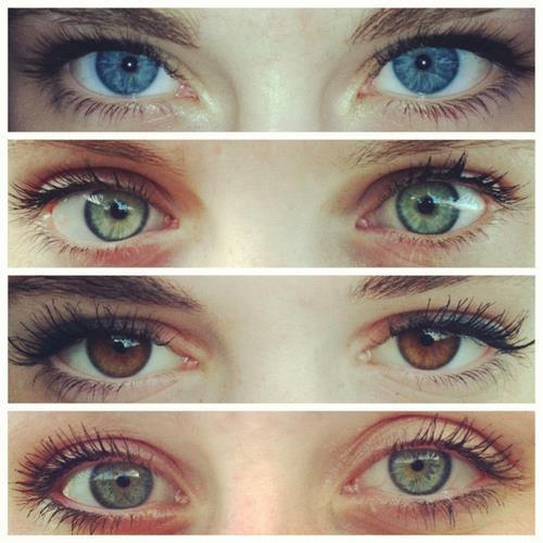 Porque dois olhos.