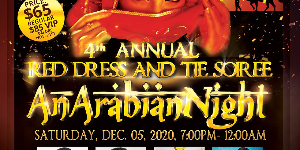 4Th Annual Red Dress and Tie Soiree