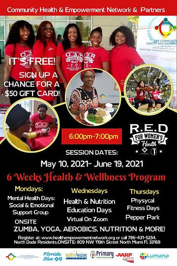 Red For Womens Health Fitness Program 20