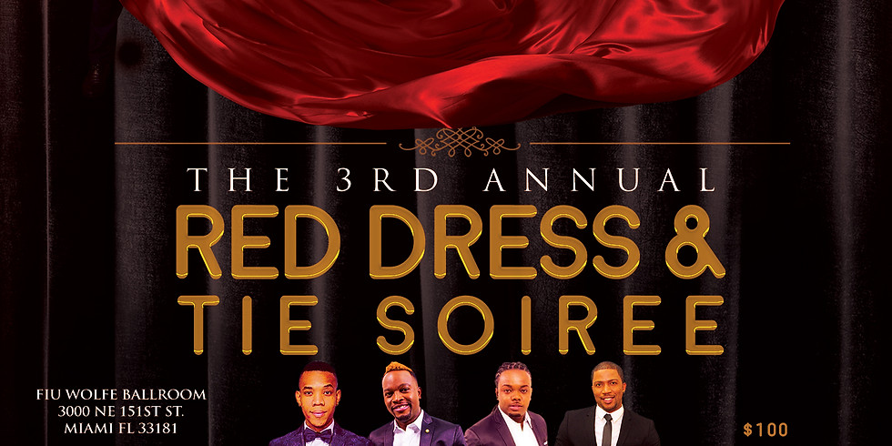 3rd Annual Red Dress Soiree and Fundraising Awards Gala