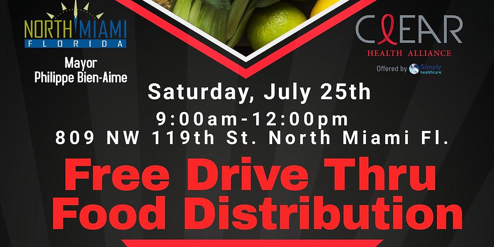 Free Monthly Drive Thru Distribution