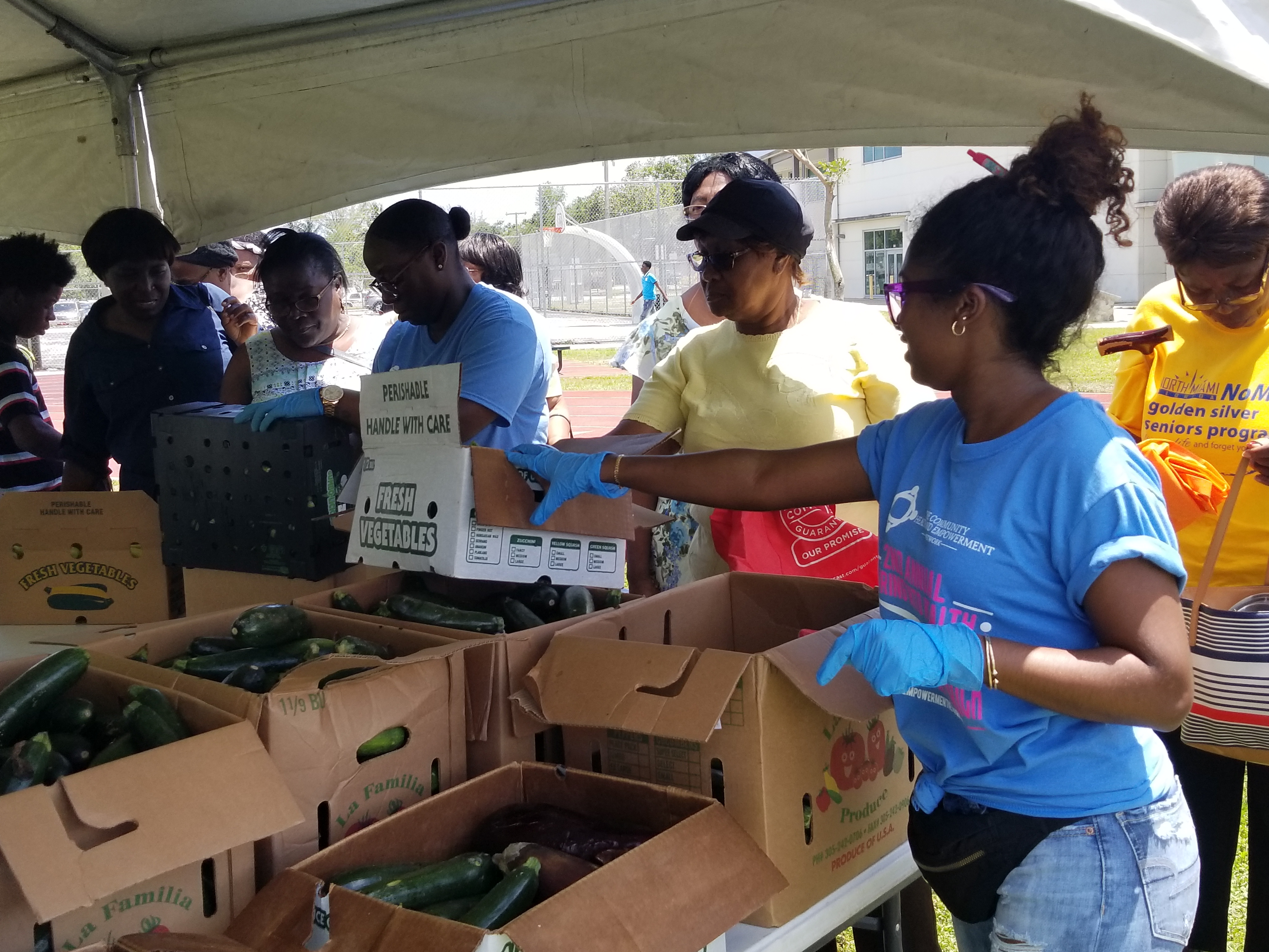 Free Food Distribution Program