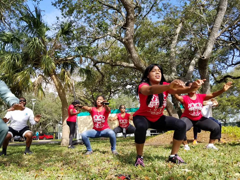RED for Women's Health Exercising