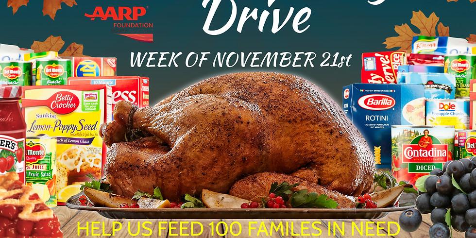 Thanksgiving Turkey & Food Distribution Drive