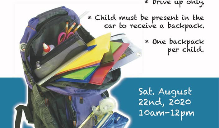 Free Community Back-To-School Book Bag Giveaway