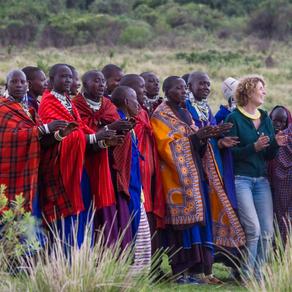 Mindfulness safari in Tanzania