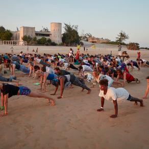 Kust van Kenia: yoga walhalla!