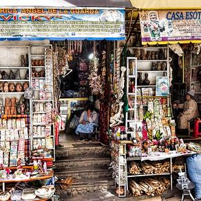 Heksenmarkt van Bolivia