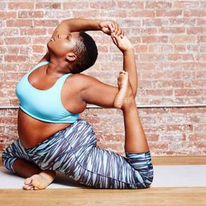 Curvy yoga & body kindness @ home