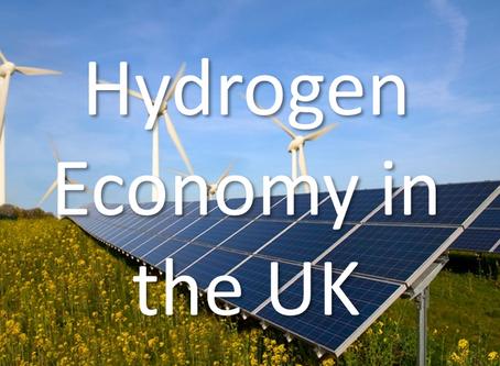 Latest News on the UK Hydrogen Economy - 15/09/20