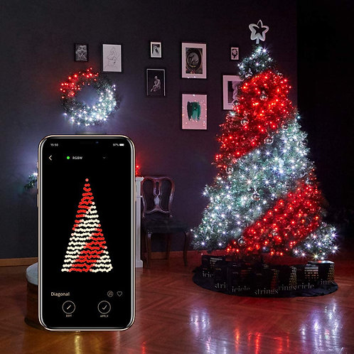 Twinkly Christmas String Light 125 Led
