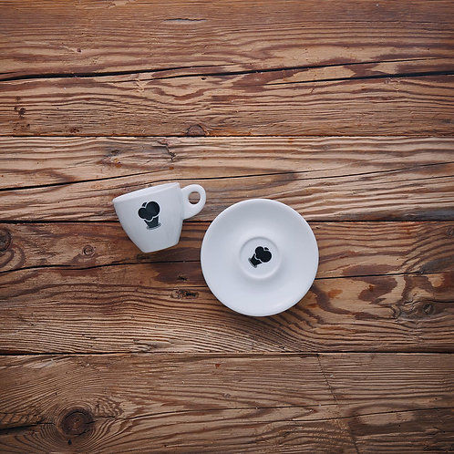 Große Espresso Tasse 'Eiswerkstatt'
