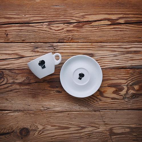 Cappuccino Tasse klein 'Eiswerkstatt'