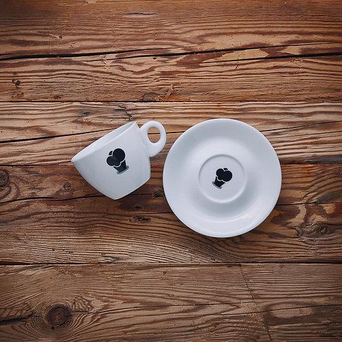 Cappuccino Tasse groß / Milchkaffee 'Eiswerkstatt'