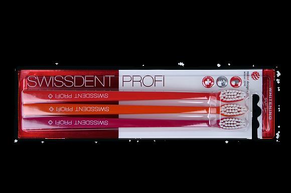 PROFI WHITENING Brosses à dents Triopack