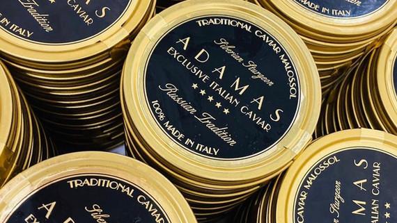ADAMAS CAVIAR BLACK TINS