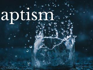 Baptism Service - 2 May 2021