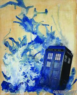 Splash Down TARDIS