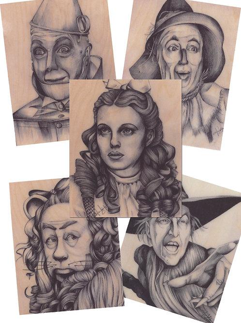 Wizard of Oz Sticker Pack