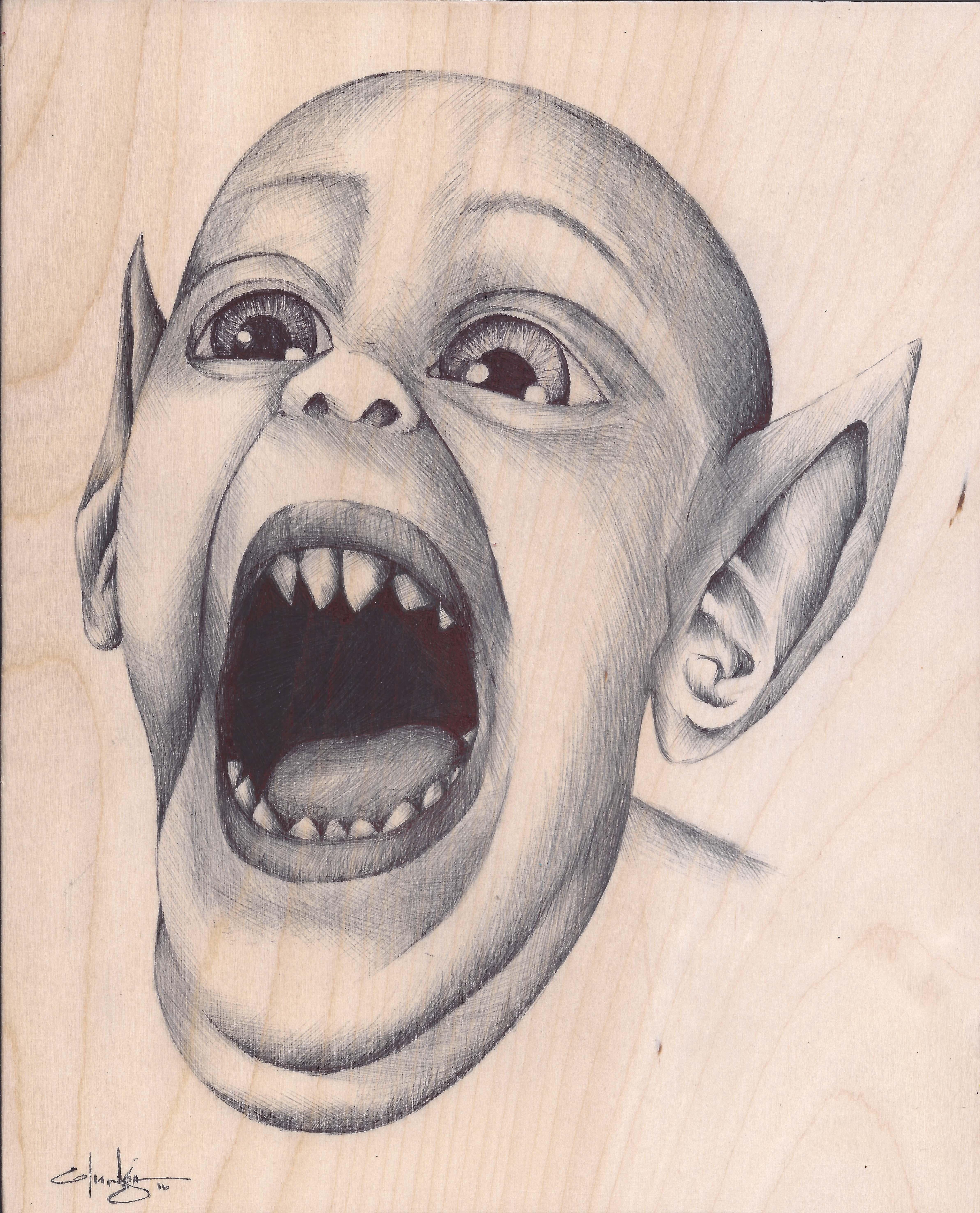 Bat Boy sketch
