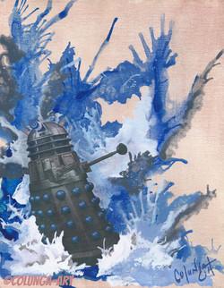Splash Down Dalek