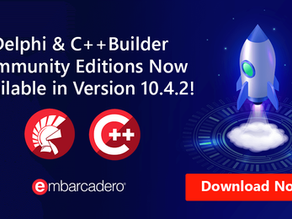 Delphi Community Edition updated to 10.4.2