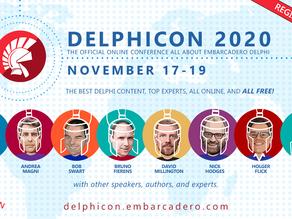 Announcement: DelphiCon 2020 coming November 17-19th