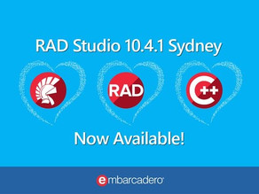RAD Studio 10.4.1 Sydney Released - and Delphi is better than ever!