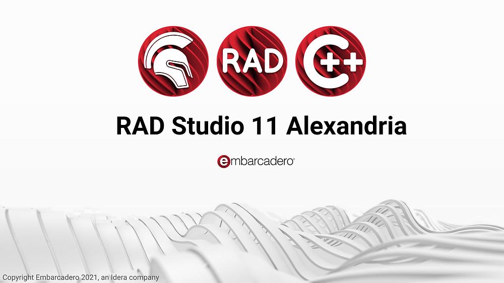 RAD Studio 11 Anexandria from Embarcadero