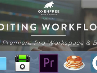 EDITING WORKFLOW SERIES: Ep. 03 - Premiere Pro Workspaces & Bins
