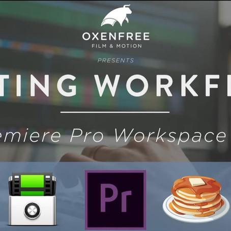 EDITING WORKFLOW SERIES: Ep. 03 - Premiere Pro Workspaces & Bins