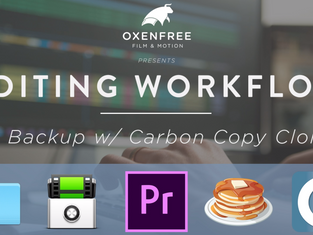 EDITING WORKFLOW SERIES: Ep. 05 - Backup w/ Carbon Copy Cloner