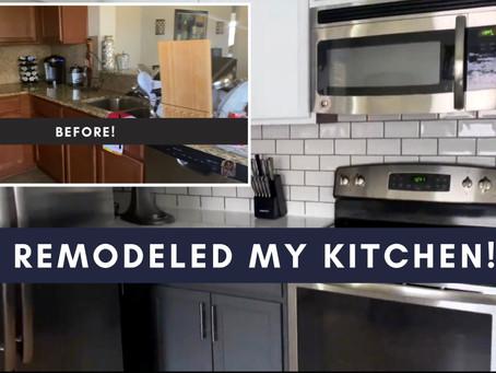 Renovation revealed: I remodeled my kitchen!