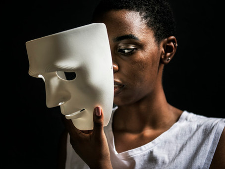 Modern Day Superheroes: It's okay to take the mask off.