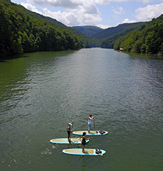 Cheat Lake Paddle Board
