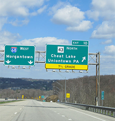 Cheat Lake Directions