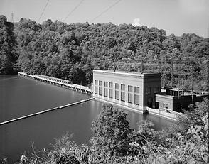 Cheat Lake Dam